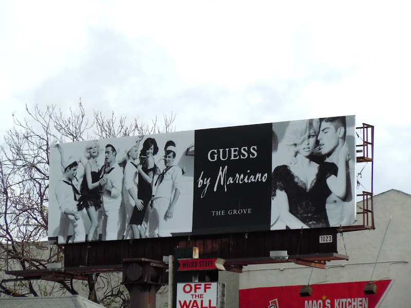 Guess by Marciano sailor billboard