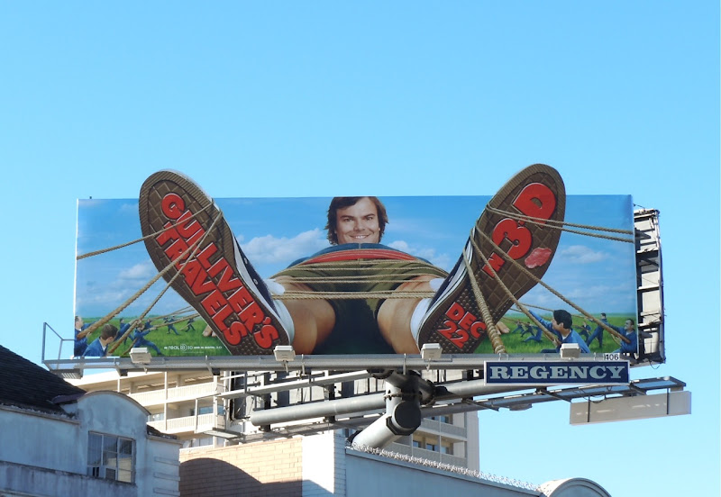 Gulliver's Travels movie billboard