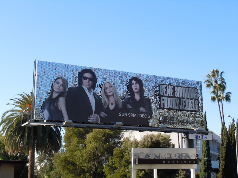 Gene Simmons Family Jewels billboard