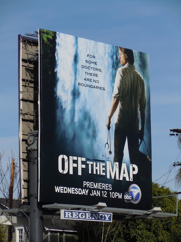Off The Map ABC billboard