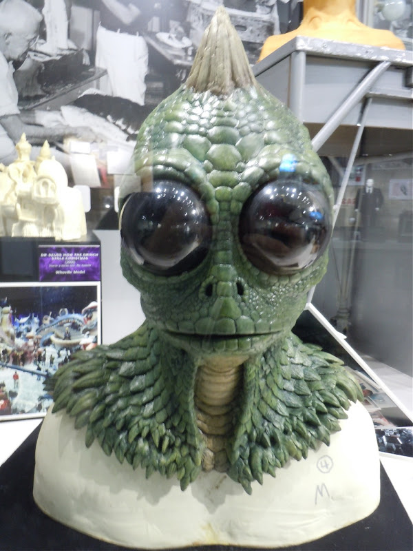 Sleestak head Land of the Lost 2009