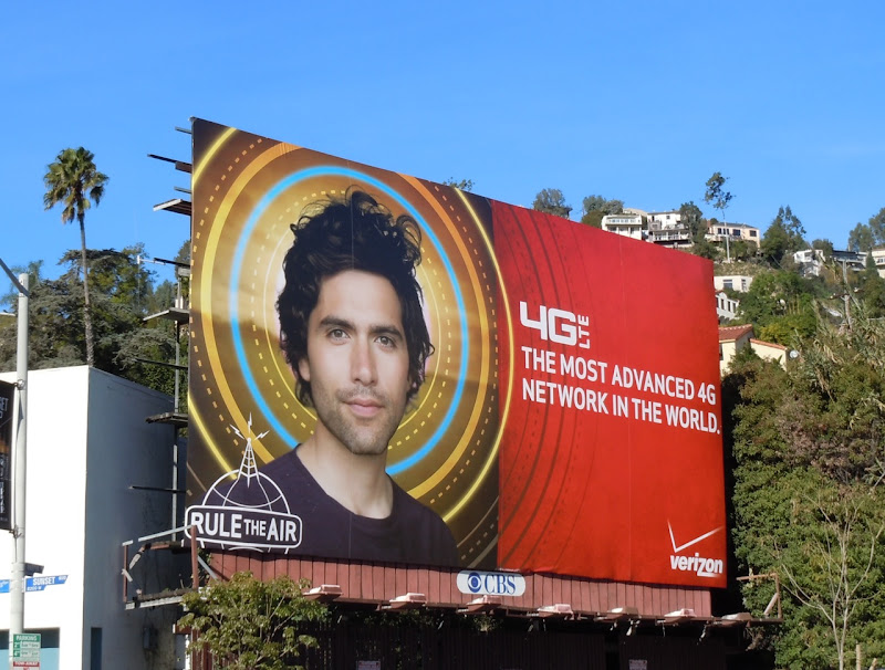 Verizon 4G lte billboard