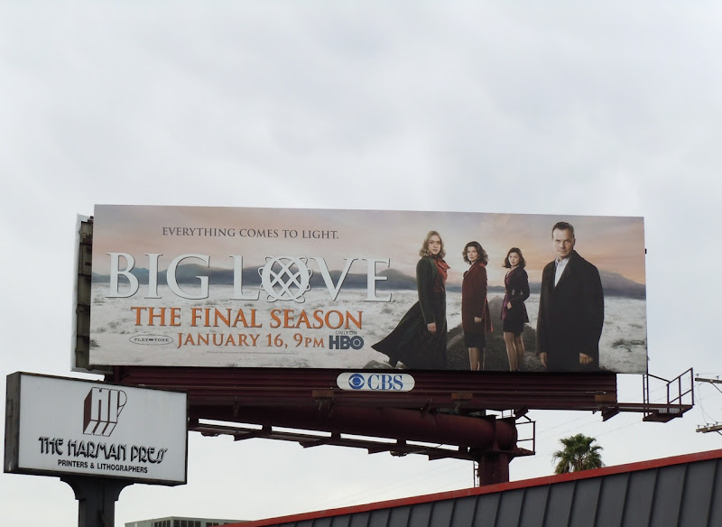 Big Love season 5 TV billboard