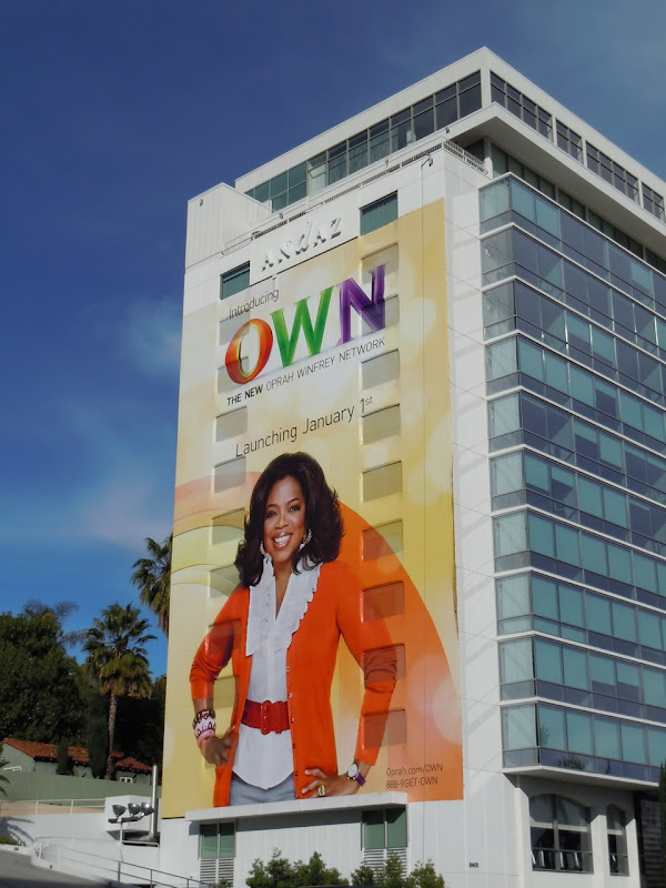 Oprah OWN TV billboard