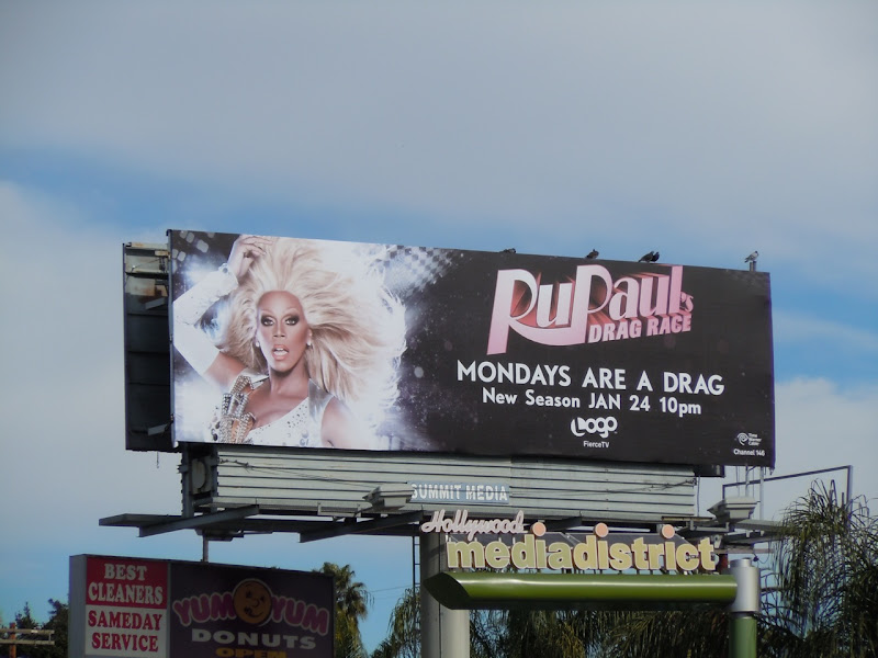 RuPaul's Drag Race season 3 billboard