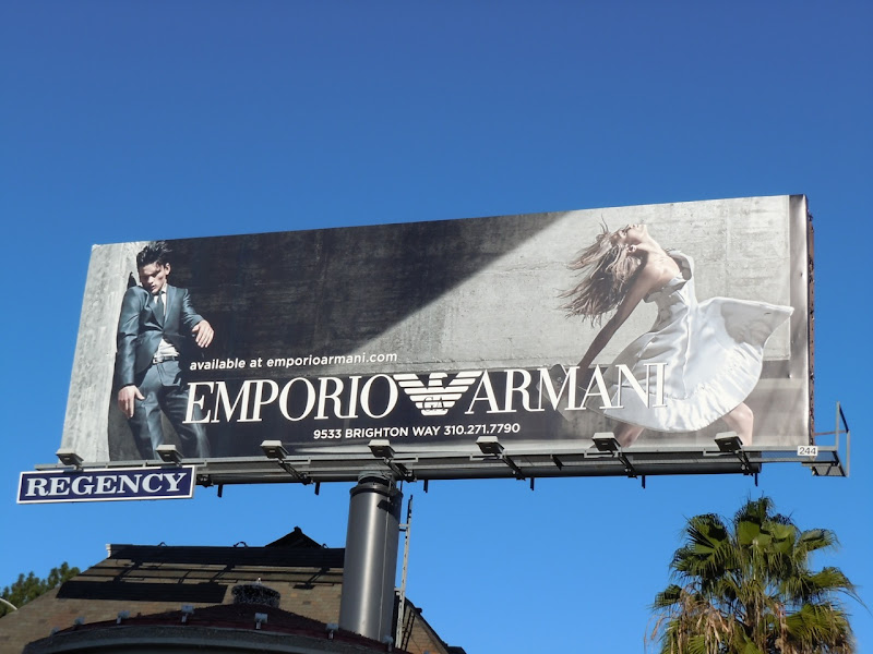 Emporio Armani Jan 2010 billboard