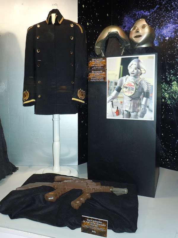 Buck Rogers in the 25th Century TV costumes and props