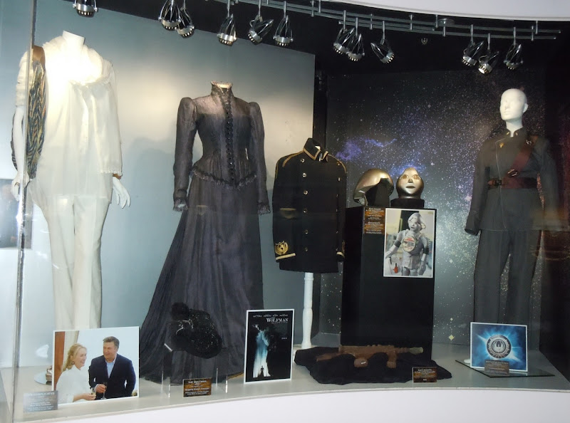 NBC Universal TV and film costume exhibit