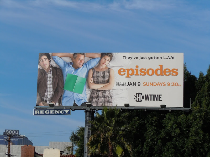 Episodes Showtime TV billboard