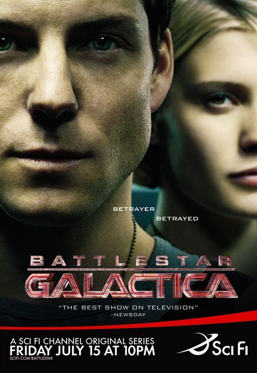 Battlestar Galactica TV poster