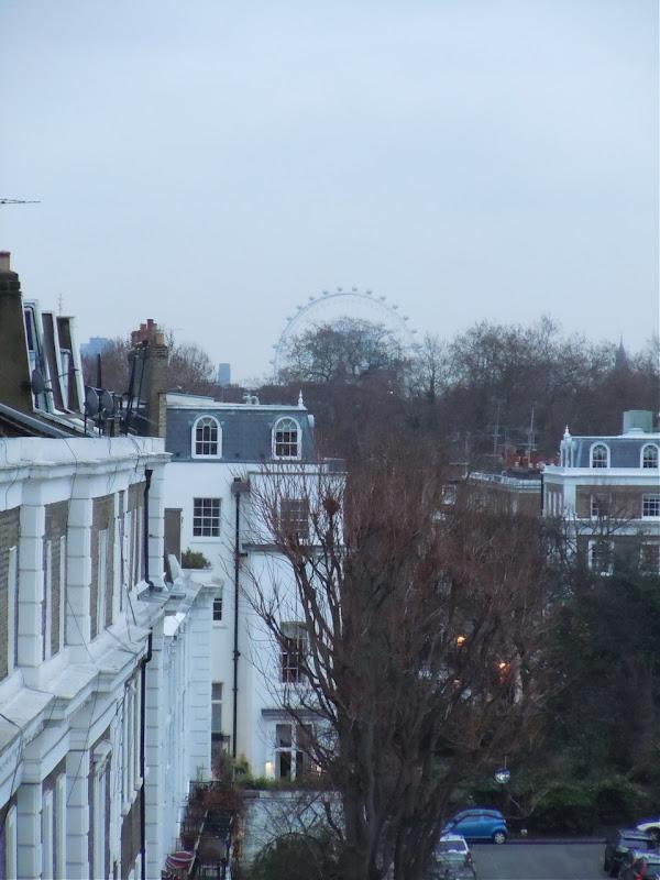 London Eye view South Kensington