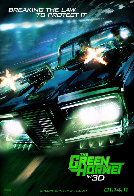 The Green Hornet Black Beauty poster