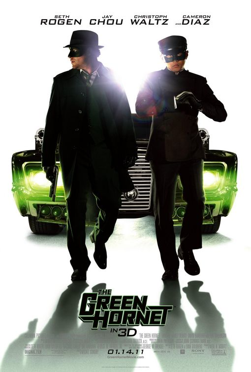 The Green Hornet Kato poster