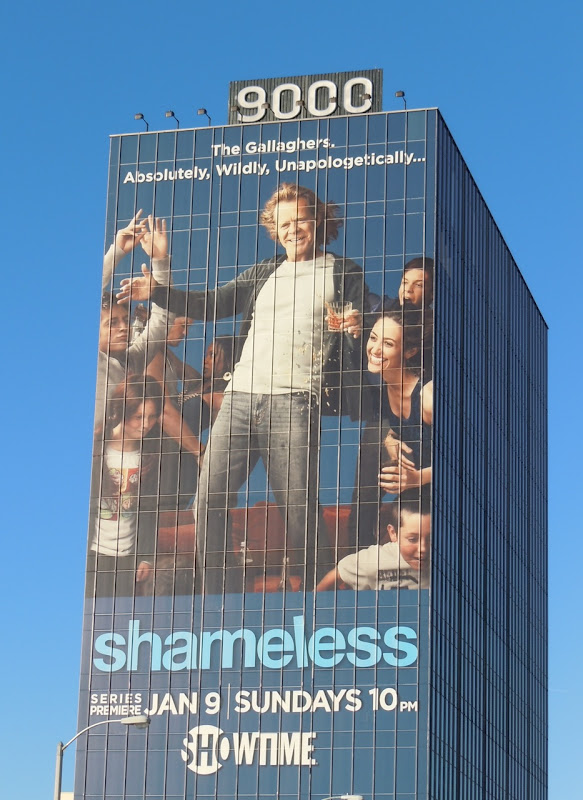 Shameless remake billboard