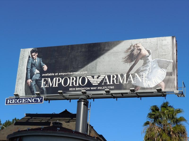 Emporio Armani Spring 2011 billboard