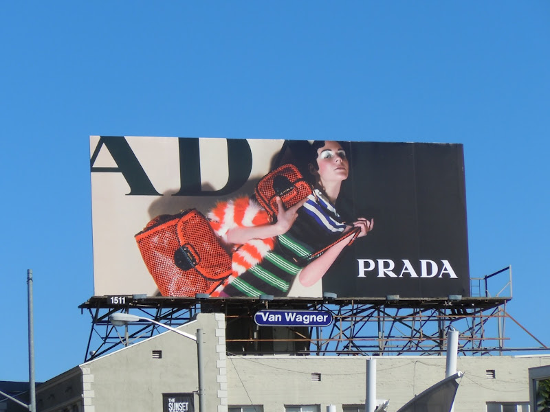 Prada Resort 2011 billboard
