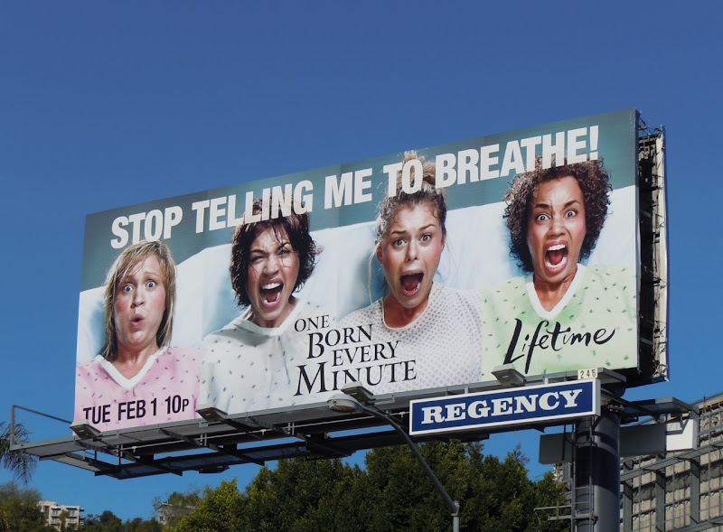 Stop telling me to breathe billboard
