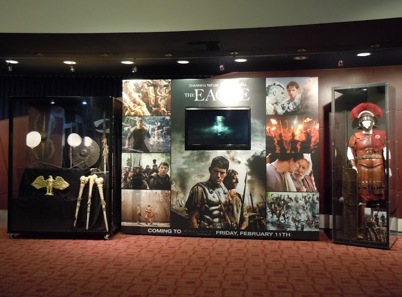 The Eagle movie costume and props exhibit