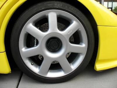 Michael Schumacher's Bugatti EB110