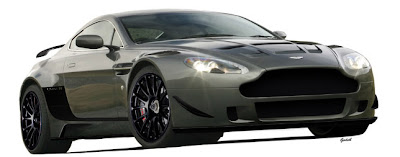 2010 Aston Martin Le Mans Vantage Racer