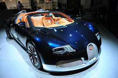 Bugatti Veyron 'Nocturne' 'Sang d'Argent' and 'Soleil de Nuit' Special Edition