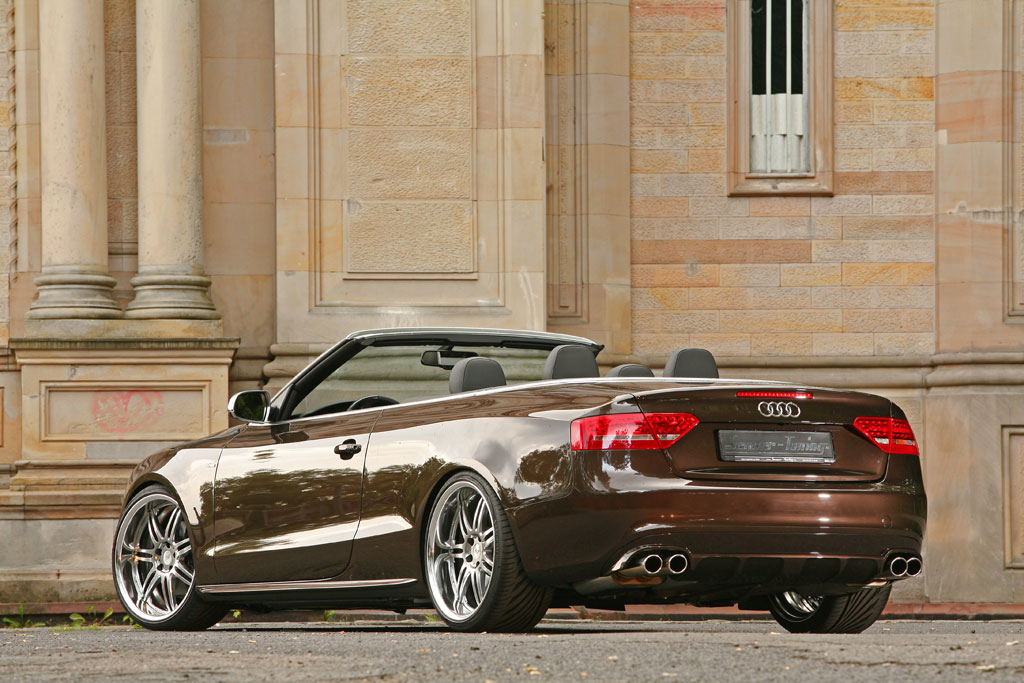 speedy cars 2011 audi a5 cabrio by senner tuning. Black Bedroom Furniture Sets. Home Design Ideas