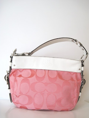 coach in usa factory outlet 6oa2  Tag Name: SIGNATURE ZOE SILVER/ROS Condition: New with Tags NWT Comes  with official Coach USA Factory Outlet gift receipt to verify authenticity