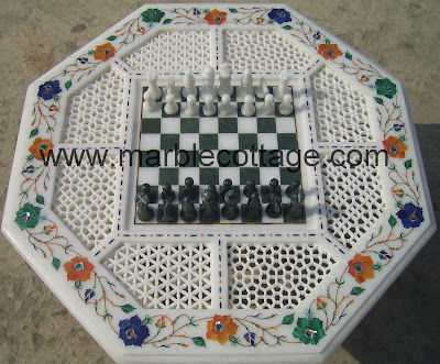 Taj Mahal Agra India World Famous For White Marble Inlay