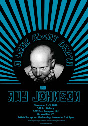 Ray Johnson and ABAD Poster <br>by Angela Ferrara