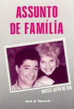 """Livro """"ASSUNTO DE FAMILIA"""", Lançado em 1994"""