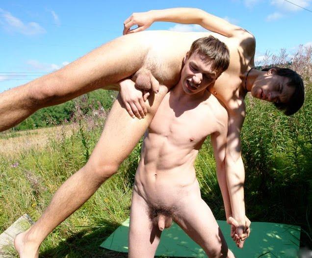 Naked lil boy porn