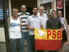NOVA EXECUTIVA MUNICIPAL DO PSB DE BENTO GONÇALVES-RS ELEITA - GESTÃO INICIADA EM 2009