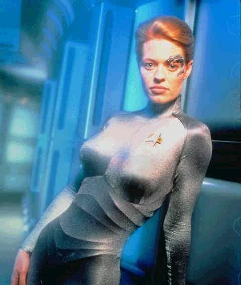 Star Trek chicas tetas
