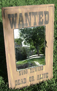 Wanted Poster painted by Monica Jamer