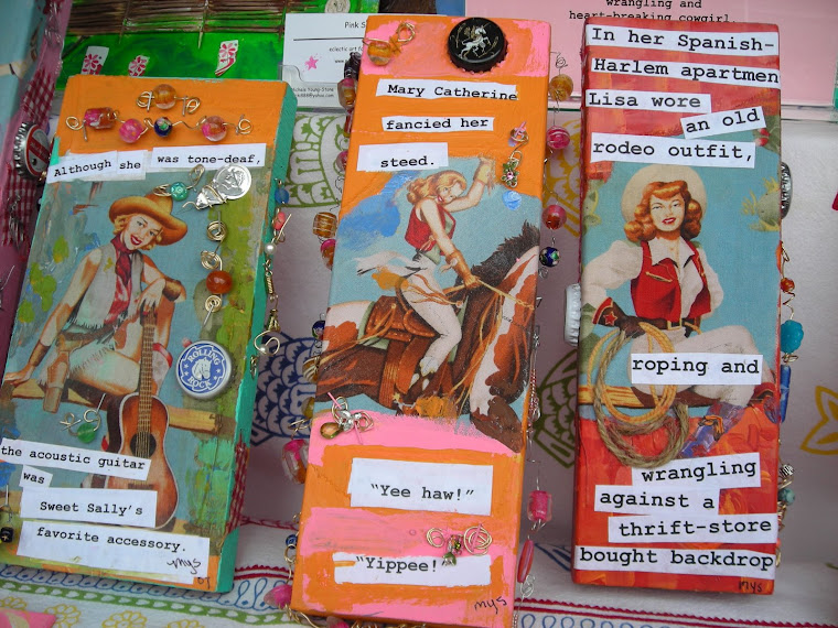 Some of my kitschy cowgirls