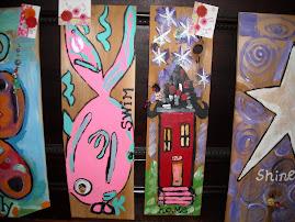 Cedar paintings