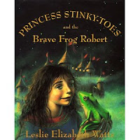 Cover of Princess Stinky Toes, a sort of fractured fairytale.