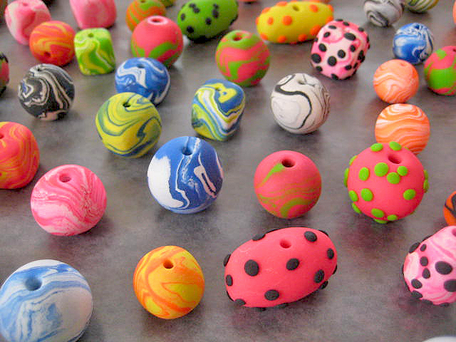 Beads Jewelry Projects - Sculpey Easy, Breezy Bead Bracelet