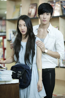 No Min Woo with cool, beautiful, cute, Girlfriend Shin Min Ah