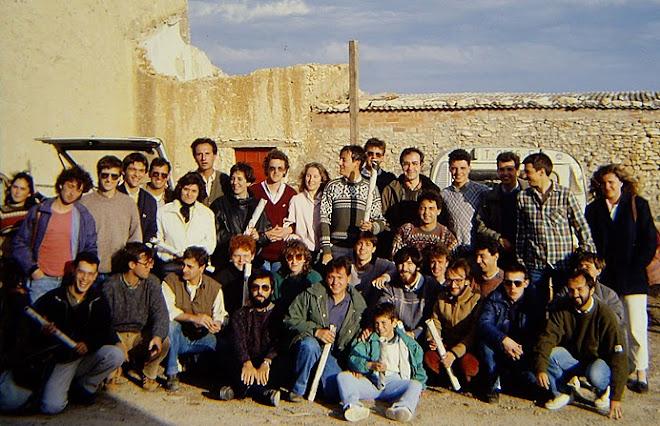 Ornitòlegs catalans 1987