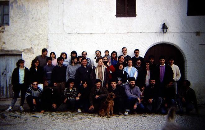 Ornitòlegs catalans 1988