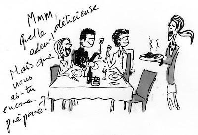 La flore et la faune d ner entre amis for Diner entre amis rapide