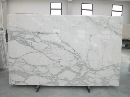 The Granite Gurus Slab Sunday Calacatta Gold marble