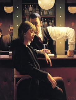 Cocktails and Broken Hearts. Jack Vettriano