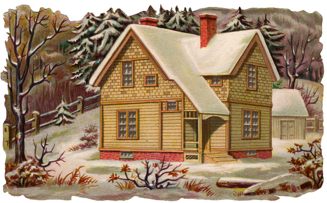 Old House Clip Art