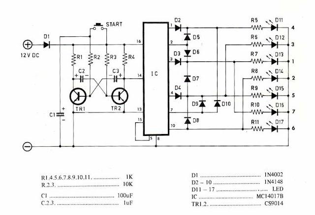 el rincon de los circuitos  4017