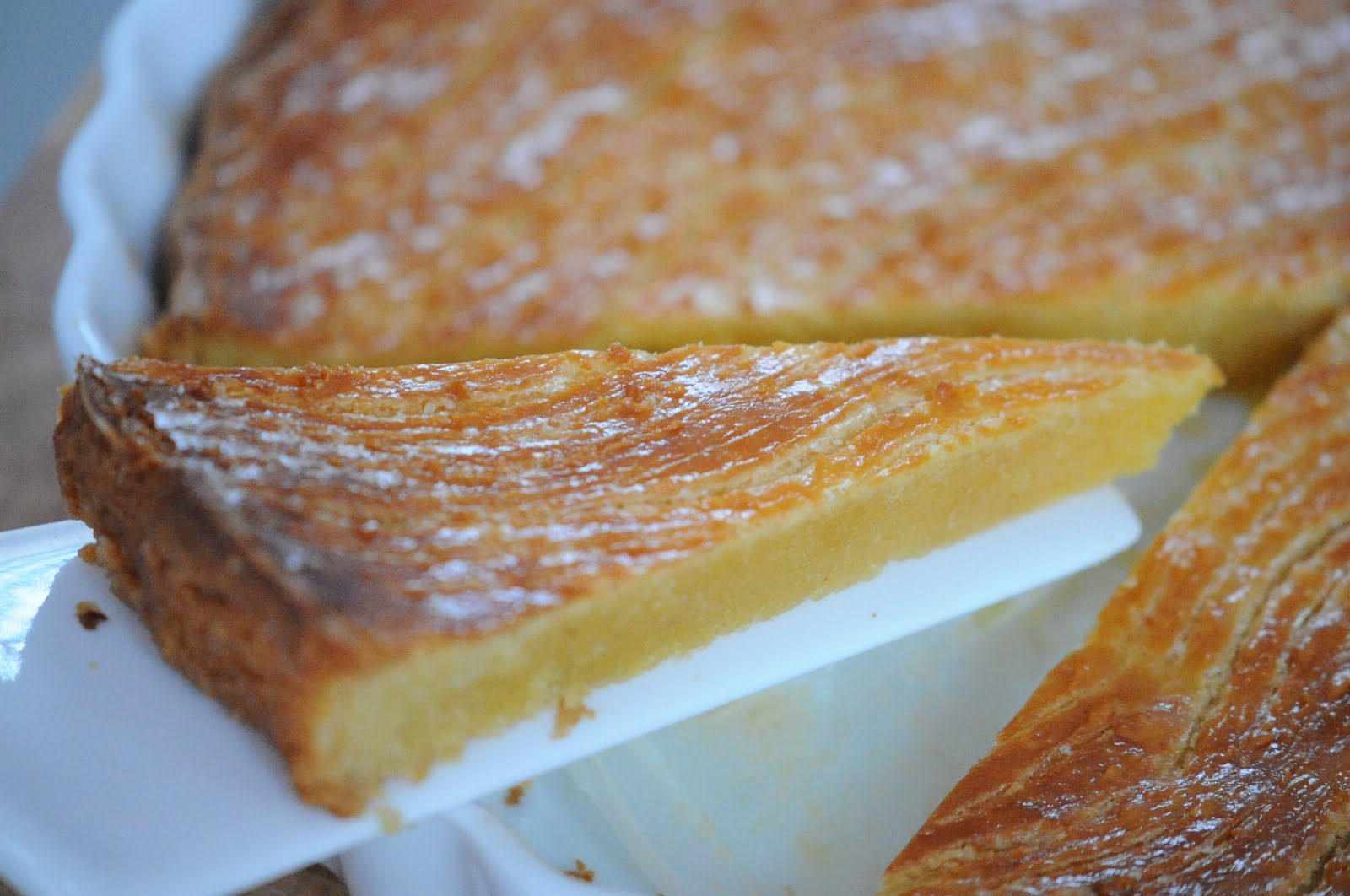 lachinvasion: Rich Almond Tart Almondy Taart