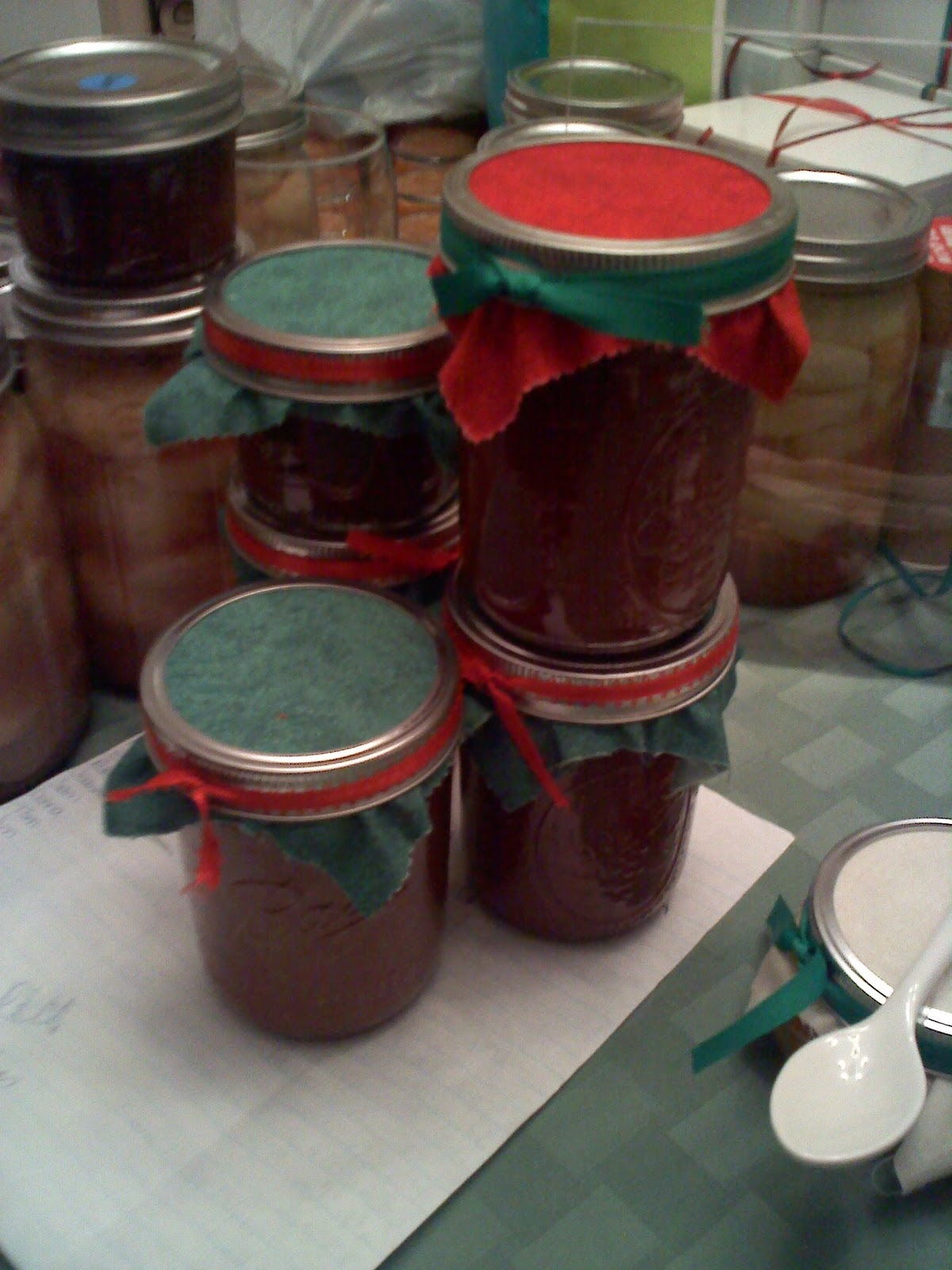 homemade on long island decorating canning jars
