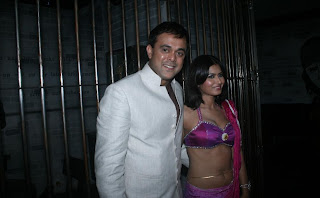 Sumeet Raghavan with Divya Dwivedi who plays Savita bhabhi in Jay Hind