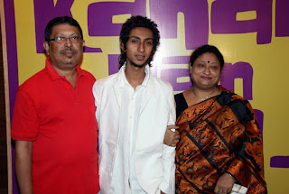 Siddarth, Tuhin S with his mother